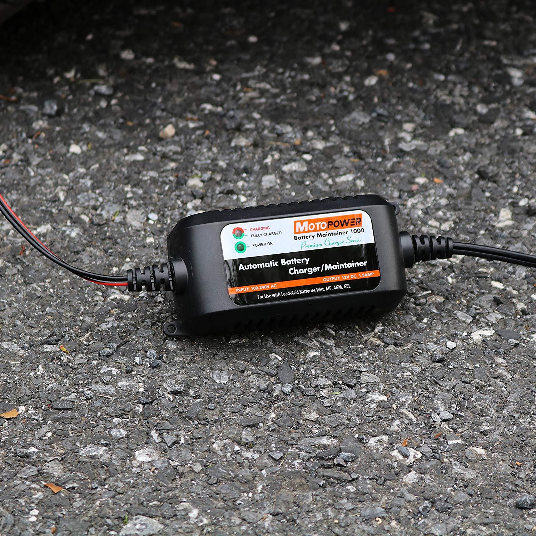 : MOTOPOWER 12V 1.5Amp Chargeur de batterie