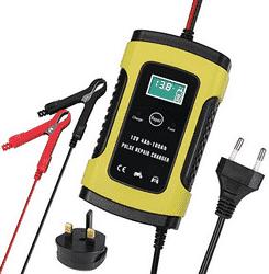 Test chargeur de batterie pour voiture Uraqt