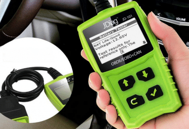 Test valise de diagnostic JDiag OBD2