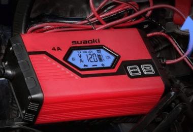 test chargeur de batterie pour voiture Suaoki