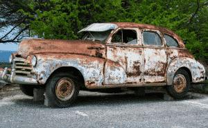 débarrasser épave auto