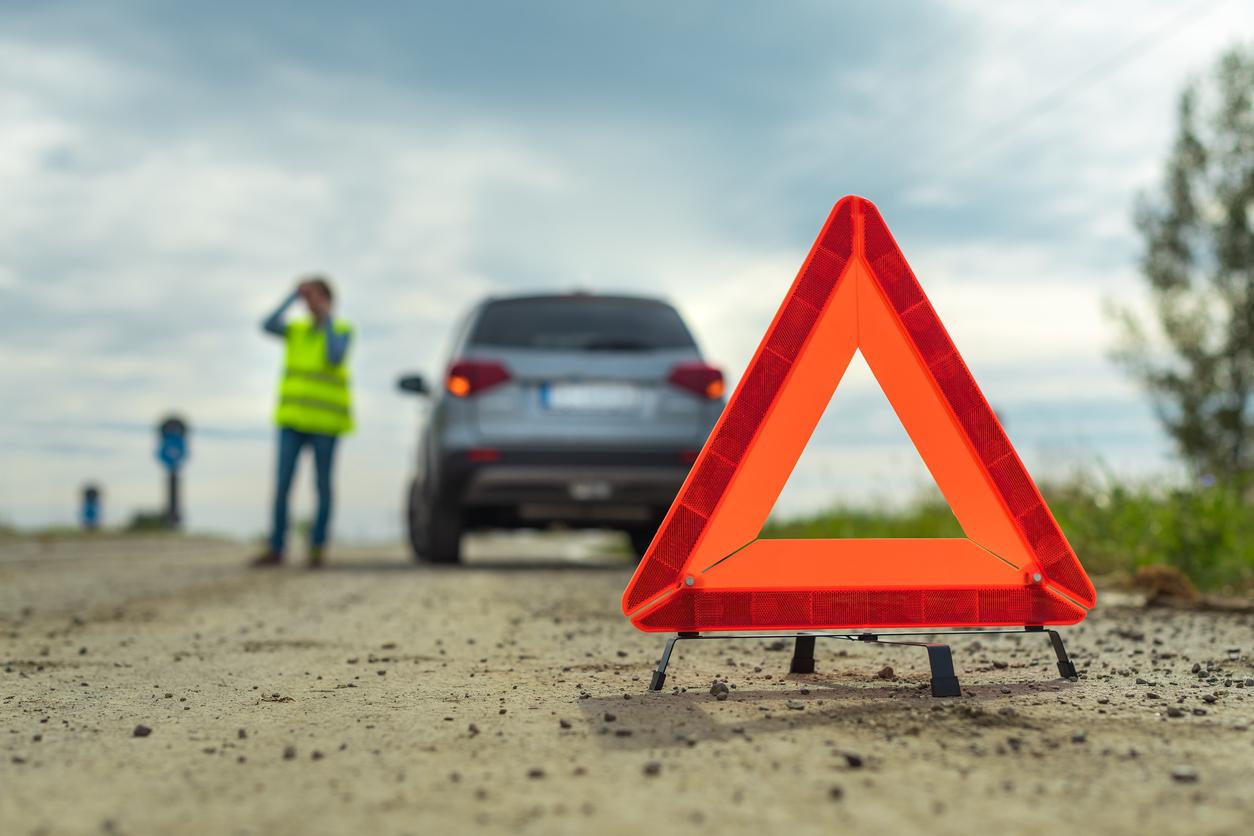 Problème de véhicule en panne