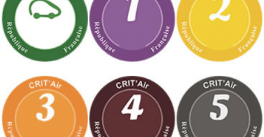 Informations sur la vignette crit'air